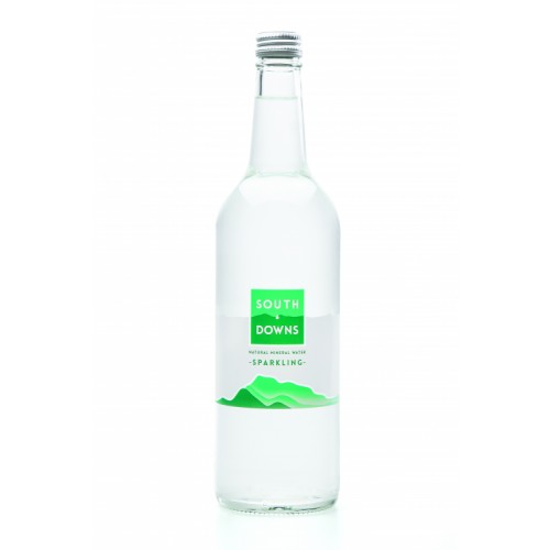 Southdowns Mineral Water 750ml Glass Bottle Sparkling