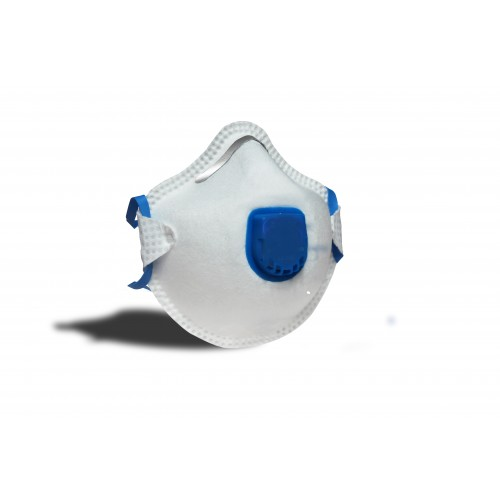 Portwest White  R P2V Respirator Valved Mask (10)