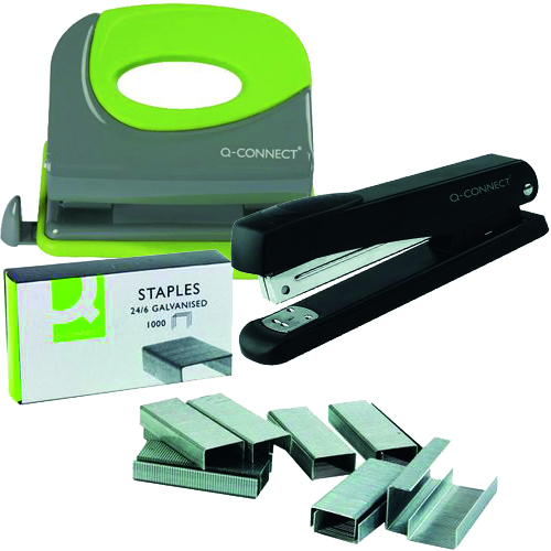 Staplers, Staples & Punches
