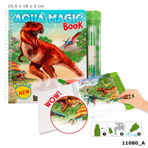 Dino World Aqua Magic Book