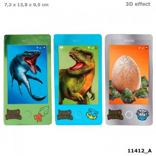 Dino World Mobile Mini Colouring Book