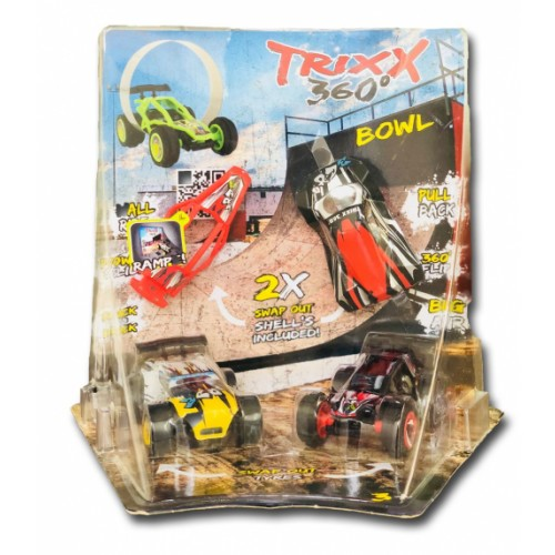 TRIXX 360 Corner Ramp Vehicle Set