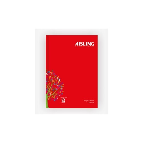 Aisling A4 Casebound Project Maths Book 120 page