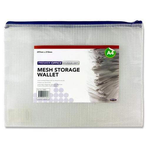 Premier Universal A4 Durable Storage Wallet