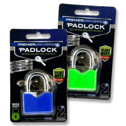 Premier Universal Heavy Duty Copper Core Padlock 2 Asst.
