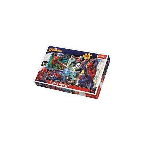 Spiderman Rescue Jigsaw 160pc