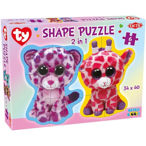 TY BEANIE BOOS SHAPE 6 PIECES PUZZLE