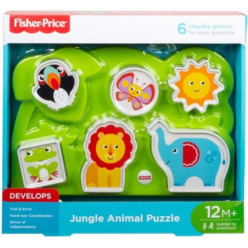 Fisher-Price Jungle Animal Puzzle