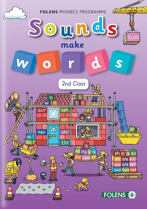 Sounds Make Words 2nd Class Student Book 2018  PE8304