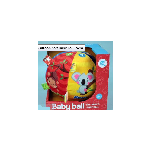 Cartoon Soft Baby Ball 15cm