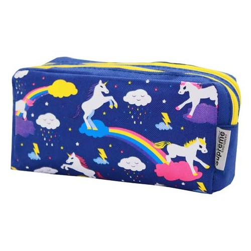 DOUBLE PENCIL CASE UNICORN (PC-5019)