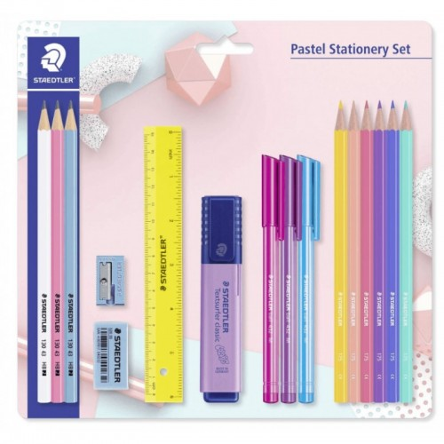 Staedtler Pastel Stationery Set