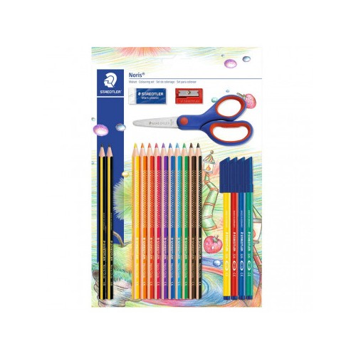 Staedlter Noris Colouring Set with Scissors
