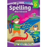 My Spelling Workbook - Book D - New Edition (2021)