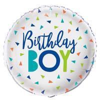 Birthday Boy  Confetti