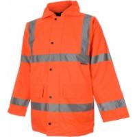 Hi-Visibility Parka (Orange) Size XL