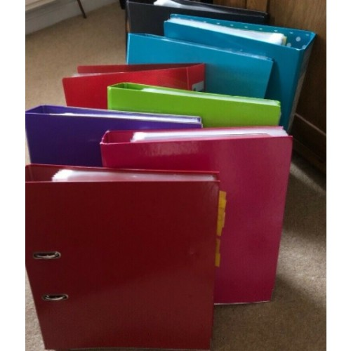 Used Lever Arch Files