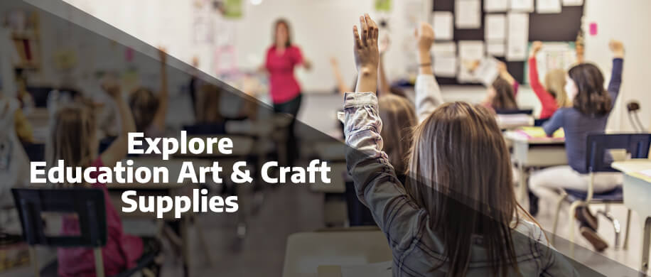 Explore the full range of Education Arts and Crafts Supplies at Ryman Business
