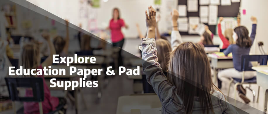Explore the full range of Education Paper and Writing Supplies with Ryman Business