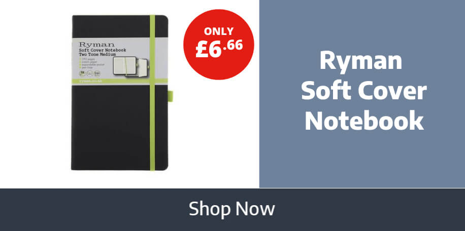 Best Selling Ryman Soft Cover Notebook