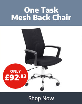 Buy the One Task Mesh Back Office Chair from Ryman Business
