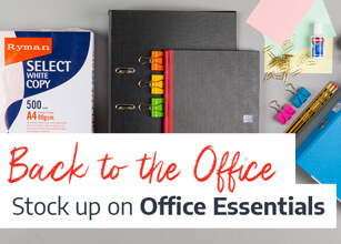 Get all the Office Essentials in one place with Ryman Business