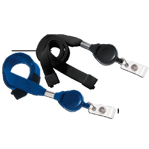 16mm Optiweave Lanyard with Safety Breakaway & Badge Reel