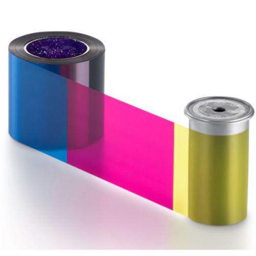 Entrust 525100-004 YMCKT Colour Ribbon (500 Prints)