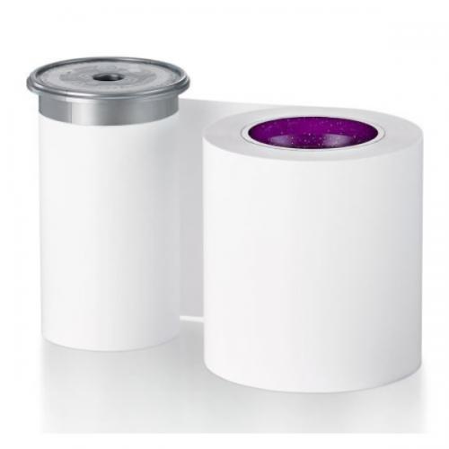 Entrust 525900-004 Monochrome White Premium/High Opacity Ribbon (1,500 Prints)