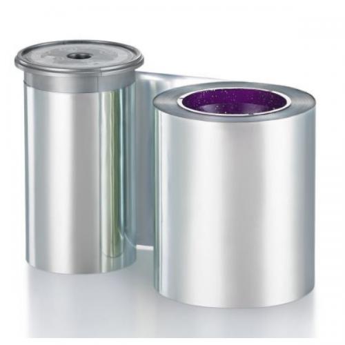 Entrust 525900-014 Monochrome Silver Metallic Ribbon (1,500 Prints)