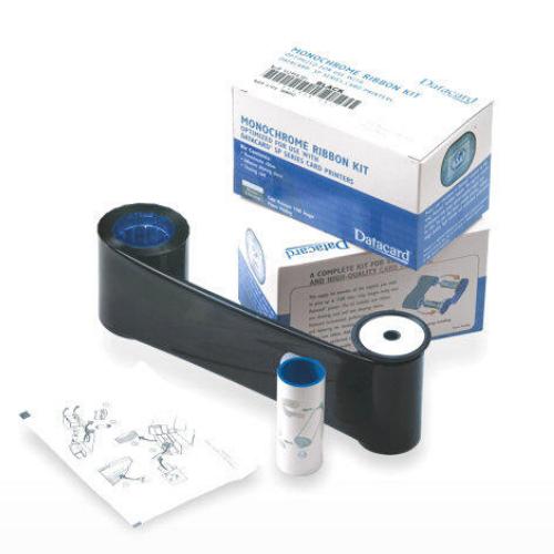 Datacard Black Monochrome Ribbon Kit - 1500 Prints