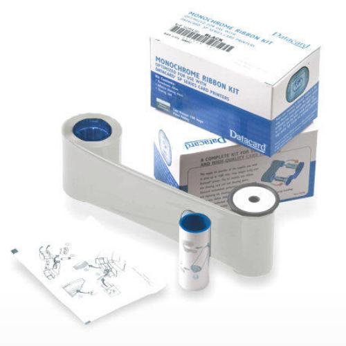 Datacard Metallic Silver Monochrome Ribbon Kit - 1500 Prints