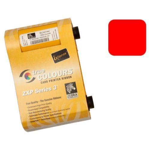 Zebra 800033-802 Red Ribbon (1000 Prints)