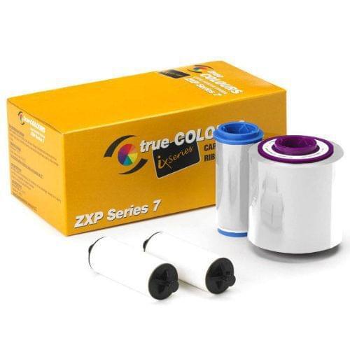 Zebra 800077-709 White Ribbon (2500 Prints)