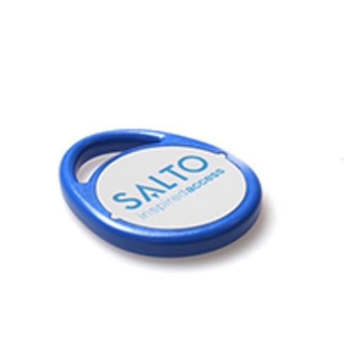 SALTO MIFARE PFM01KB 1KB BLUE KEY FOBS (PACK OF 10)