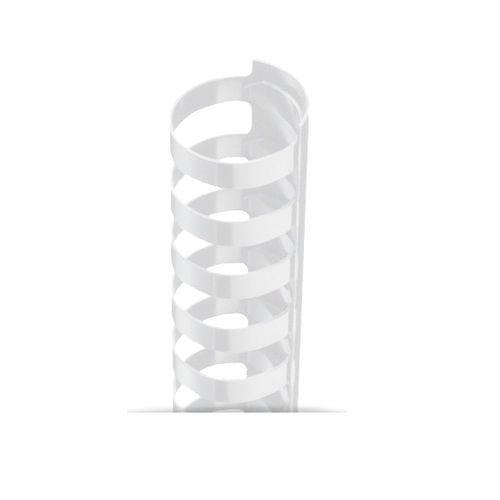 6mm x 21R Combs White - 300 BOX QTY