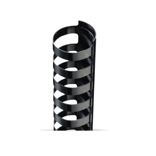 16mm x 21R Combs Black - 100 BOX QTY