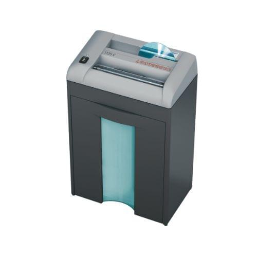 EBA 1125 P-2 security level. Compact deskside shredder with a second shredding head for CDs/DVDs.
