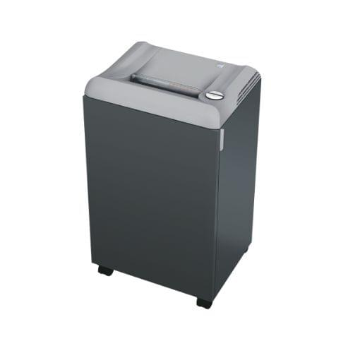 EBA 2127 C P-4 security level. Centralised office document shredder with 75 litres shred bin volume.