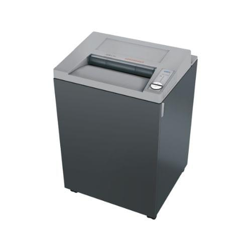 EBA 2339 C P-4 security level. Attractively priced office shredder with 400 mm feed opening for large formats.