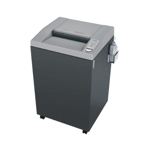 EBA 5141 CC P-5 security level. Innovative high capacity office shredder with electronic capacity control and automatic oil injection system for a consistently high shred performance