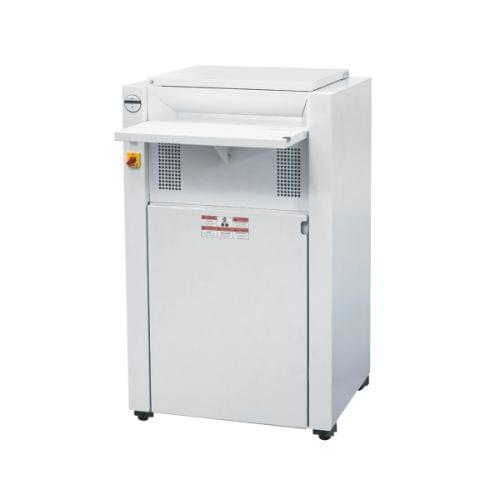 EBA 5300 C2 P-4 security level. Compact high-capacity shredder with automatic oiler. Provides data security for an entire office floor.