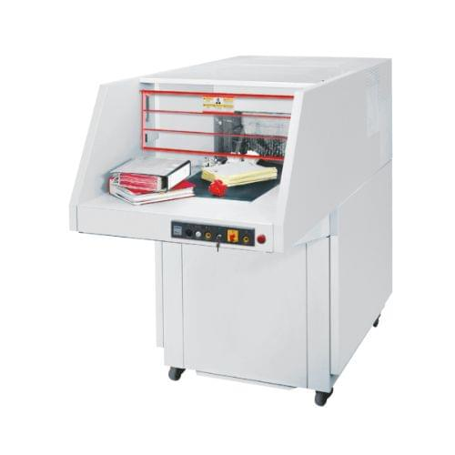 EBA 7050 C P-2 security level. Simply gigantic: for really large quantities and complete lever arch files.