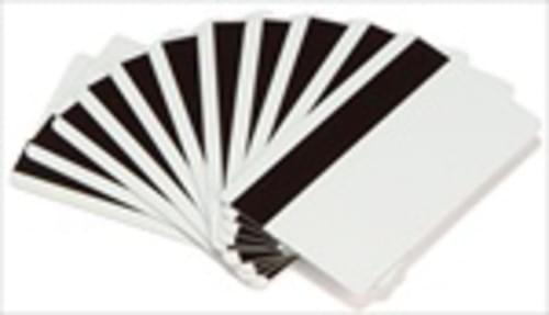 Evolis Classic Blank White ID Cards with a HICO Magnetic Stripe - 30 mil