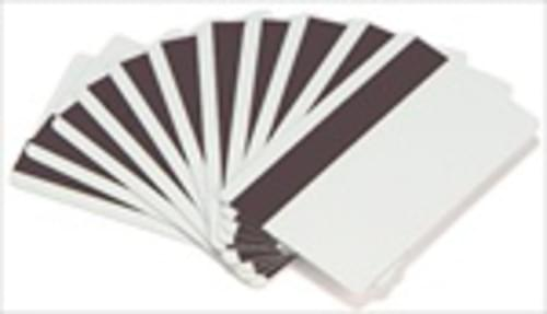 Evolis Classic Blank White ID Cards with a LOCO Magnetic Stripe - 30 mil