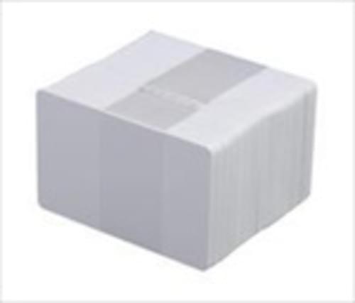 Evolis Blank PVC Black Rewritable ID Cards with HICO Magnetic Stripe- 30 mil