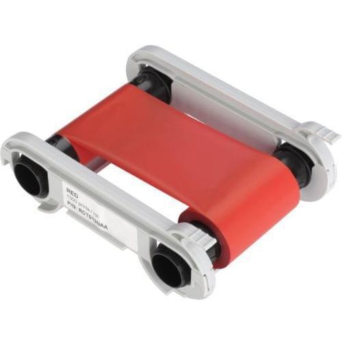 Evolis RCT013NAA Red Monochrome Ribbon (1,000 Prints)