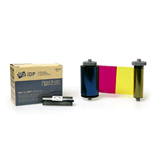IDP SMART 659380 YMCKO COLOUR RIBBON WITH UV PANEL (200 PRINTS)