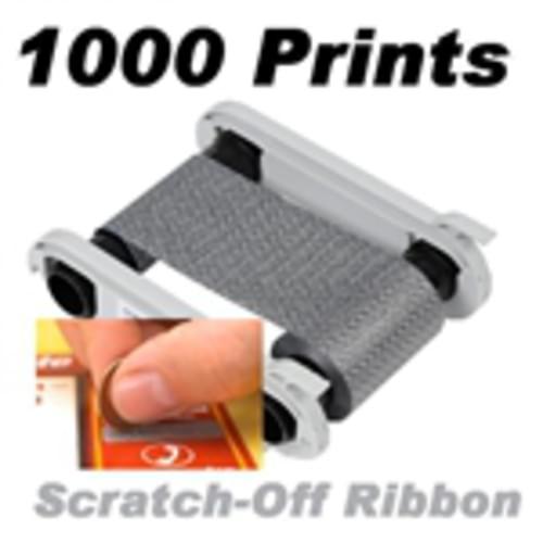 Evolis RCT018NAA Scratch Off Monochrome Ribbon (1000 Prints)