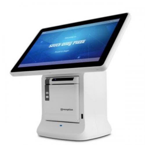 All in One Kiosk Touchscreen for Visitor Management Registration